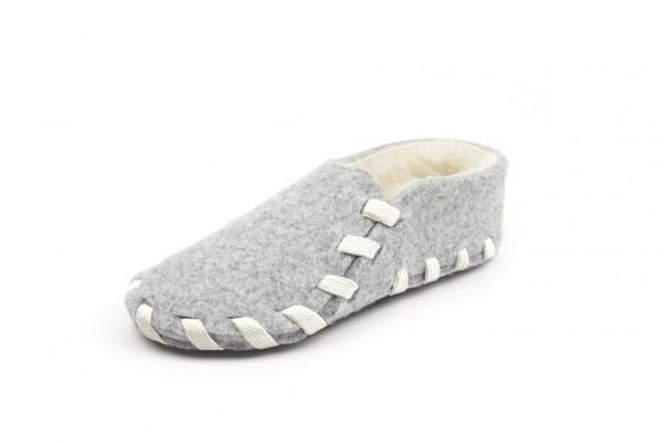 Wool lining white