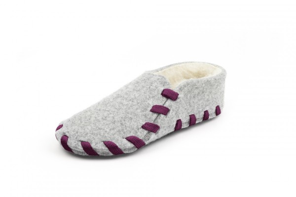 Lasso wool lining bordeaux