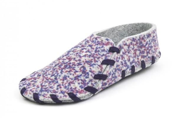 Pattern mouche-violet
