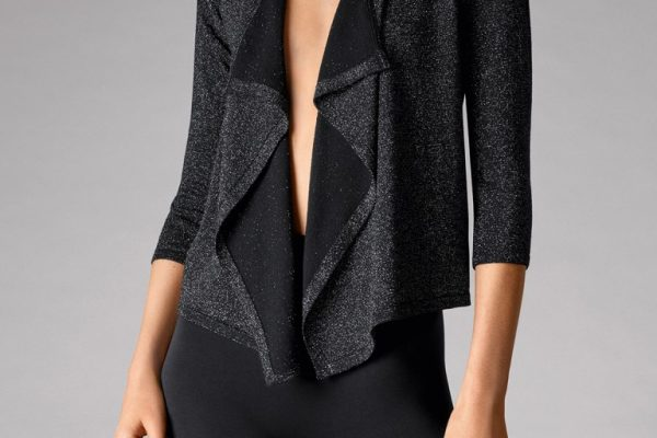 Wolford 59978 Lurex Knit Cardigan