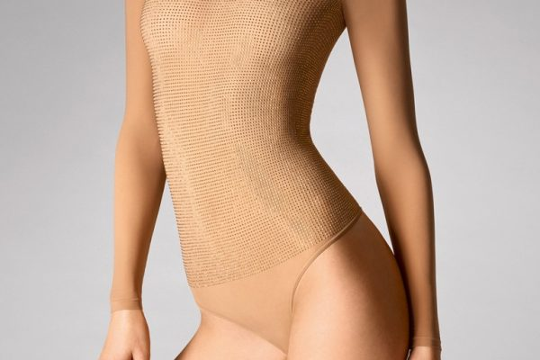 Wolford 78269 Diamond Shine String Body