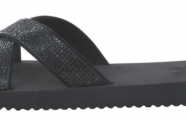 30189 Flip Flop Cross Glam - Colour black noir
