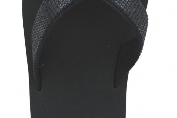 30189 Flip Flop Cross Glam black