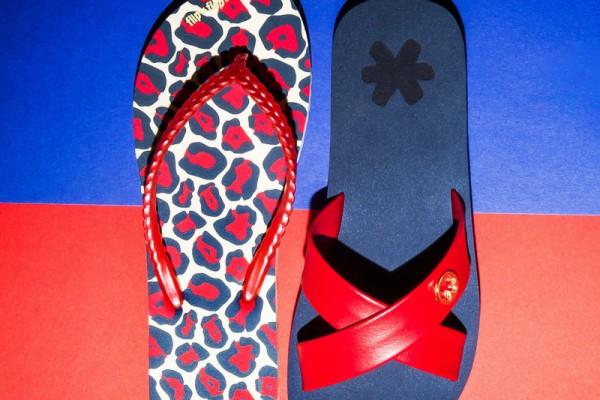 Flip Flop Red n Blue