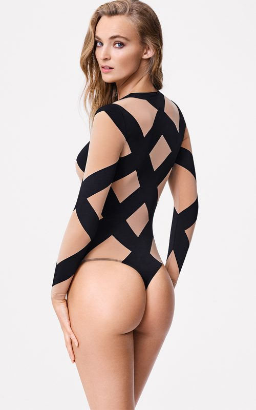 WOLFORD GREECE ANITA STRING BODY