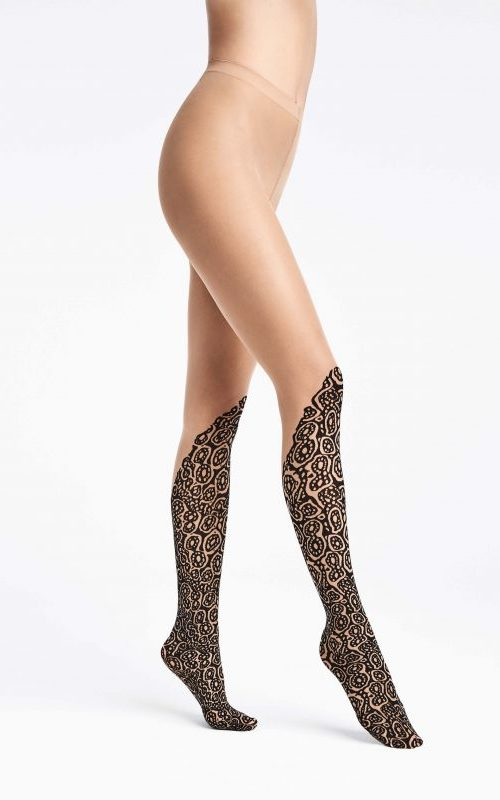 Banded Poison Dart Tights