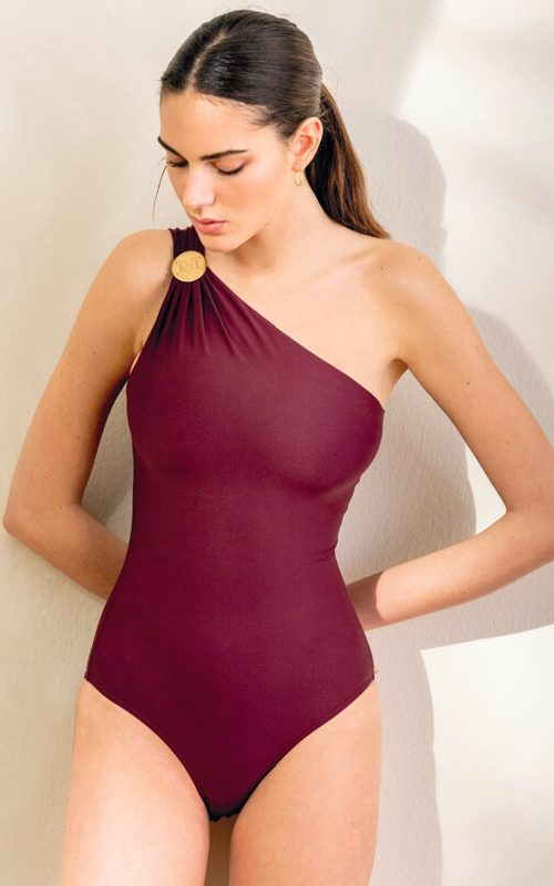 Ancella Swimbody Bordeaux