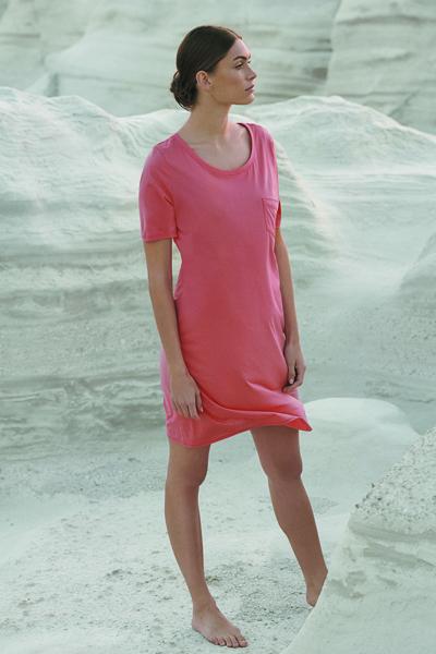 Cotton Deluxe SSlv Nightdress 90cm