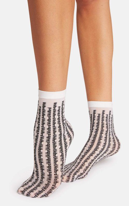 Logo Pattern Socks