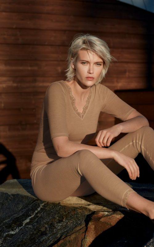 Woolen Lace Leggings