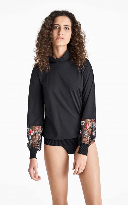 Wolford Wildflower Embroidery Pullover