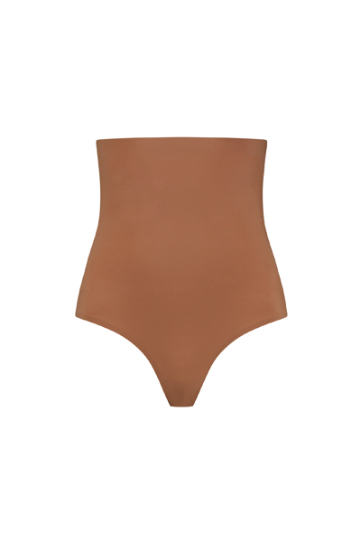 invisible thong light brown _Front